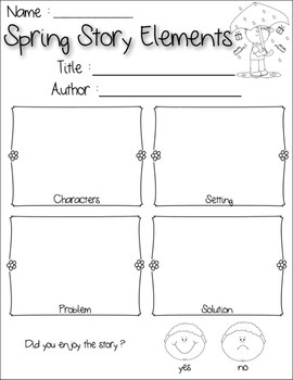 Spring Guided Reading FREEBIE!