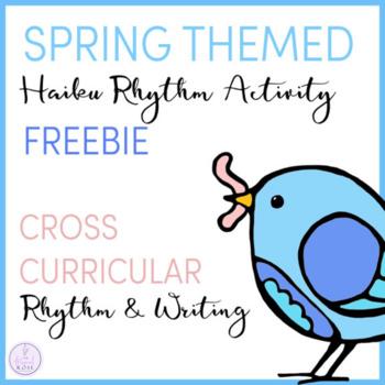 Spring Haiku Rhythm Activity Freebie