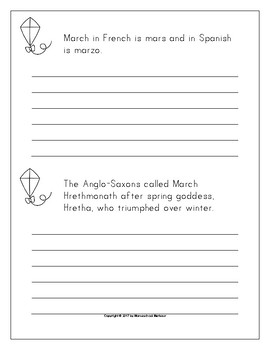 Spring Handwriting Copywork Bundle Print/Cursive