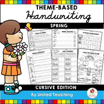 Spring Handwriting Lessons (Cursive Edition)