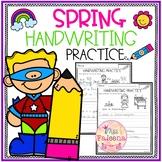 Spring Handwriting Practice