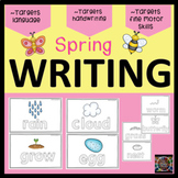 Spring Handwriting Tracing Card Set Special Education