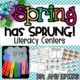 Spring Has Sprung- 10 Literacy Centers