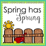 Spring Has Sprung: Spring Week {5-day Thematic Unit}