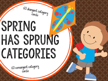Spring Has Sprung Categories
