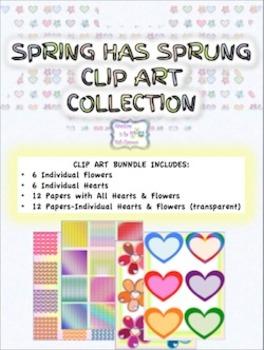 Spring Clip Art - Spring Has Sprung!