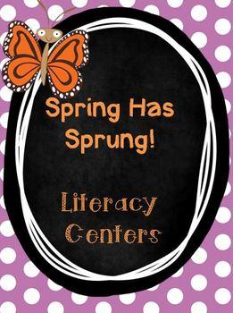 Spring Has Sprung- Literacy