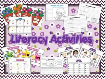 Spring Has Sprung: Literacy & Math Pack