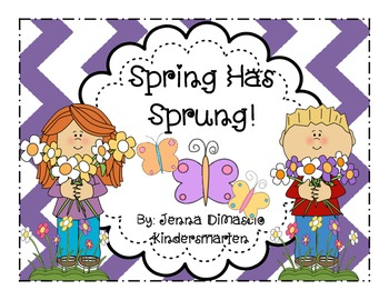 Spring Has Sprung Mini Unit {Math and Literacy}