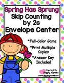 Spring Has Sprung Skip Counting by 2 Envelope Center