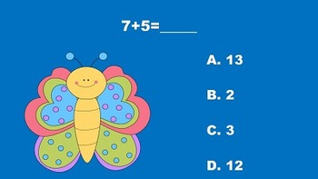 Spring Has Sprung With Addition and Subtraction - PowerPoint Game