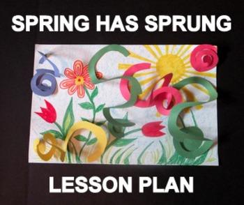 Spring Has Sprung - an Easy-art Drawing-Craftivity