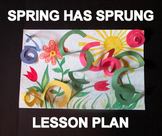 Spring Has Sprung - an Easy-art Drawing-Craftivity