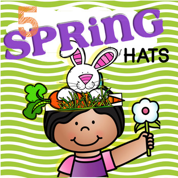 Spring Hats - 5 Hat to Make in Color and B/W