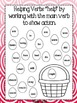 Spring Helping Verbs Activity Book