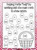 Spring Helping Verbs Activity Book