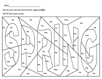 Spring Hidden Pictures Worksheets Teaching Resources Tpt