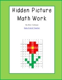 Spring Hidden Picture Math Review