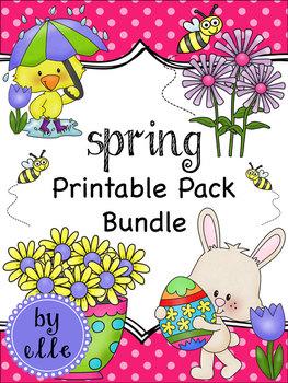 Spring Holiday Printable Pack Bundle