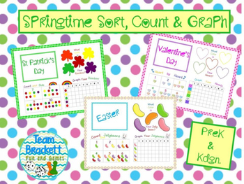 Spring Holiday Sort, Count & Graph
