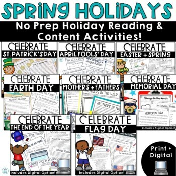 Spring Holidays Non Fiction Bundle