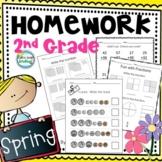 Spring Math 2nd Grade Homework ~ Homework Spring 2nd Grade