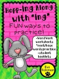 "Spring: Hopping Along with ""ing!""  Word Work and Practice for Primary"