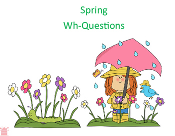 Spring How Many, Where, and Who Questions