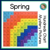 Spring Hundreds Chart Mystery Pictures