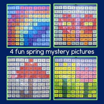 Spring Hundreds Pocket Charts, two digit addition & subtraction w. regrouping