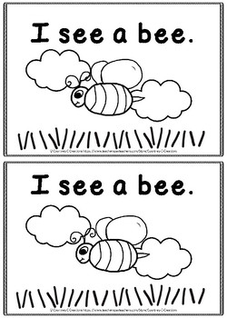 Spring I See Sight Word Book