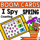 Spring I Spy Counting Activity Digital Game Boom Cards Distance Learning