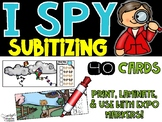 Spring I Spy Subitizing and Numbers 1-20 Math Center
