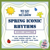 Spring Iconic Rhythm Activity Distance Learning