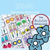 Spring Identical Matching Cards