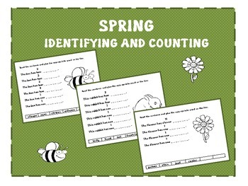 Spring Identifying and Counting K -3