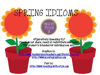 Spring Idioms #nofoolinsale