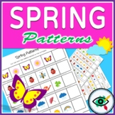 Spring Image Patterns Printable Distance Learning