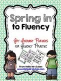 Fluency Phrases for Upper Elementary