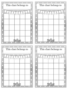Spring Incentive Chart