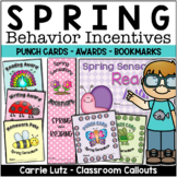 Spring Incentives ~ Punch Cards, Certificates, Bookmarks and More