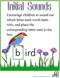 Spring Initial Sounds Activity