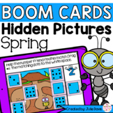 Spring Insect Counting Math Centers | Digital Game Boom Cards