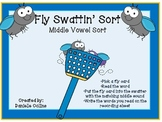 Spring Insect/Bug Middle Vowel Sort-CVC (Common Core Aligned)