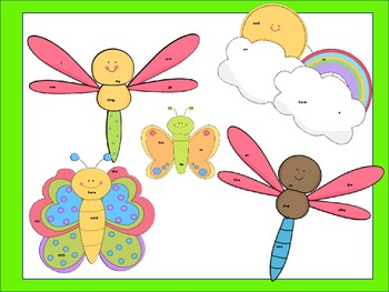 Spring Insect/Bug Word Seeks (Common Core Aligned)