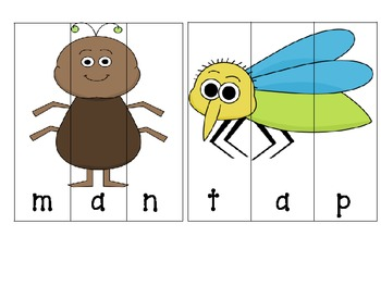 Spring-Insect/Bugs Literacy Centers (Common Core Aligned)