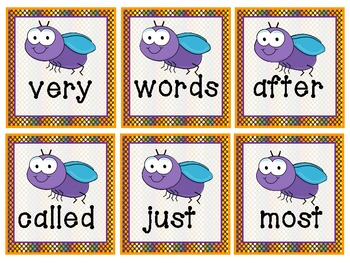 Spring Insect/Bugs Sight Words (Common Core Aligned)