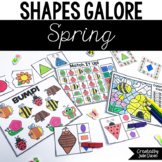 Spring Insects Activities | 2D Shapes and Games