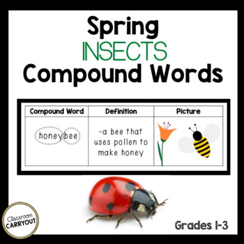 Spring Insects Compound Words