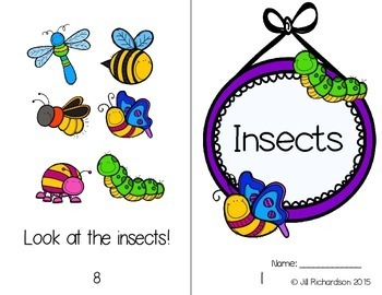 Insects Emergent Reader Level A